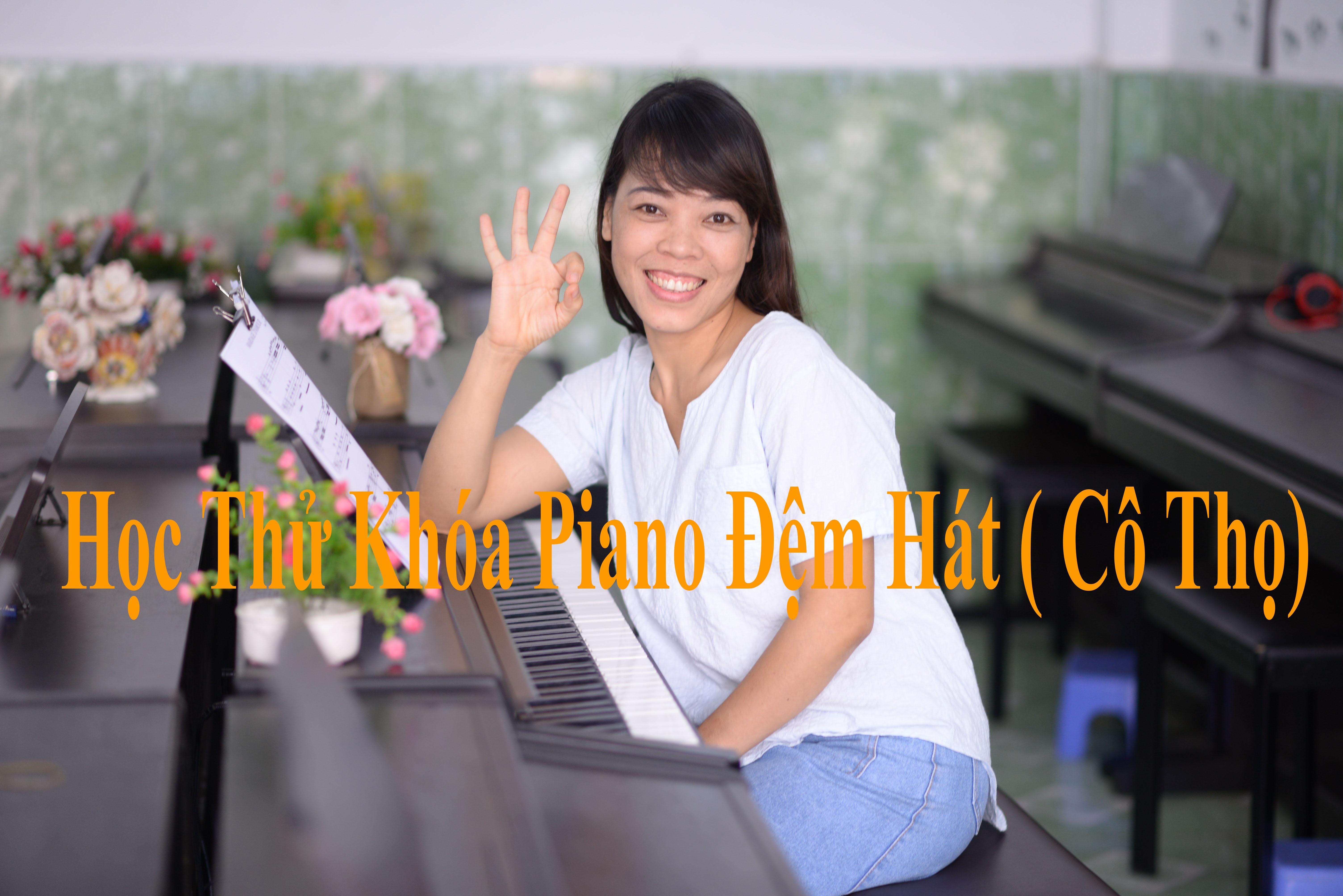 Học thử  Khóa Piano Đệm Hát