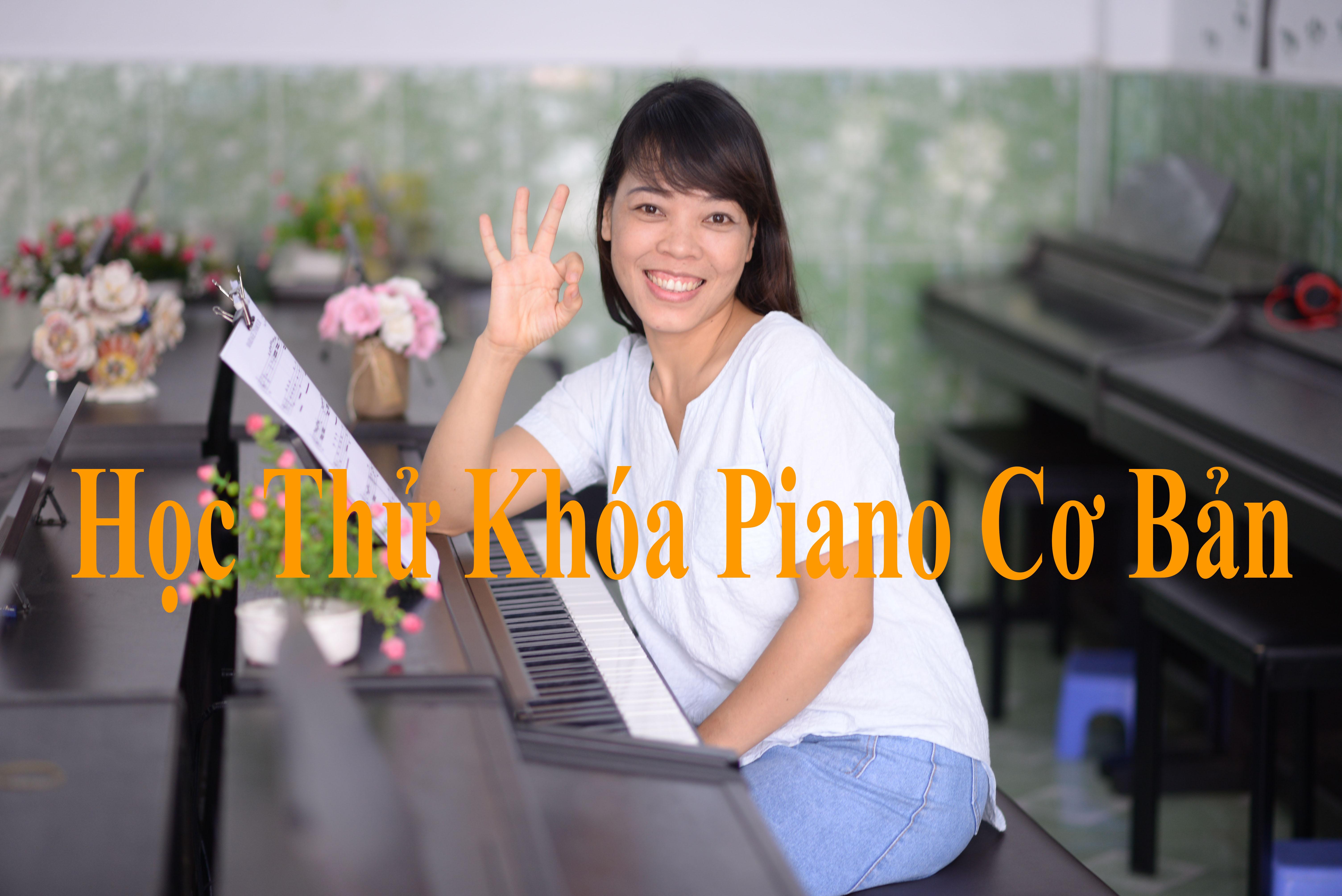 Học thử  Khóa Piano Cơ Bản